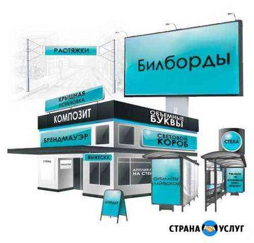 Монтаж, демонтаж всех видов рекламы Великий Новгород