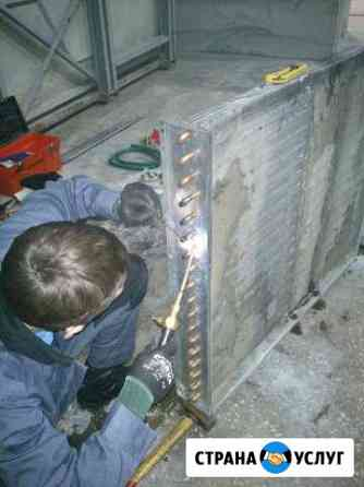 Монтаж вентиляции и кондиционеров Тюмень