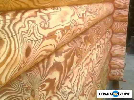 Шлифовка,полировка, покраска,обработка антисептика Высокая Гора