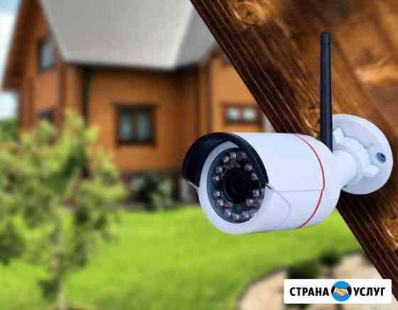 Установка камер видеонаблюдения по городу Уфа и рб Уфа