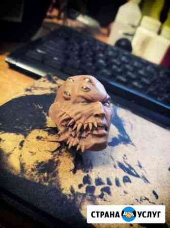 Работа с полимерной глиной (шарж, бюсты людей) Сыктывкар