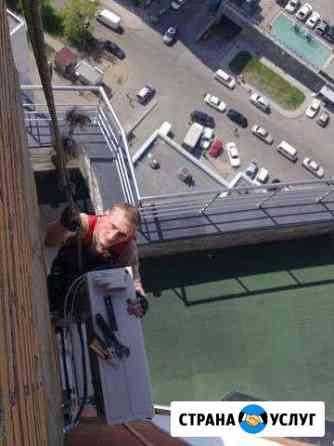 Монтаж кондиционеров, установка балконов Хабаровск