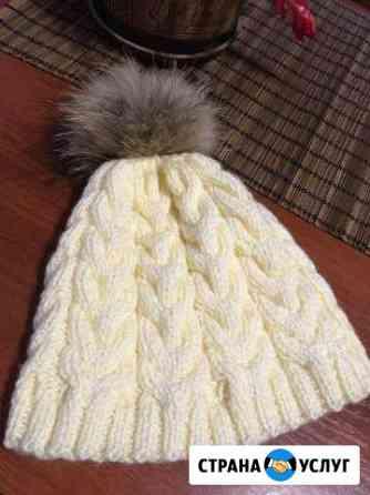 Вязаные шапки, снуды Кострома
