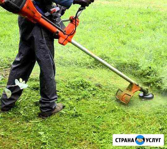 Покос, скос травы Черкесск