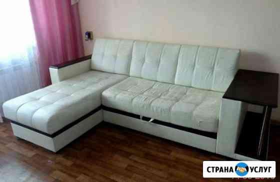 Ремонт, перетяжка, обивка, сборка мебели. на дому Тольятти