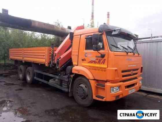 Аренда крана-манипулятора кму Палфингер 15500 Мурманск