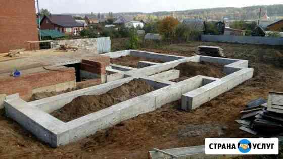 Фундаменты Нижнекамск