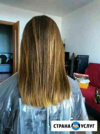Подравнивание волос Екатеринбург