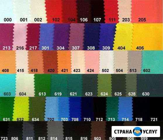 Пошив текстиля банкетного, скатертей, чехлов Красногорск