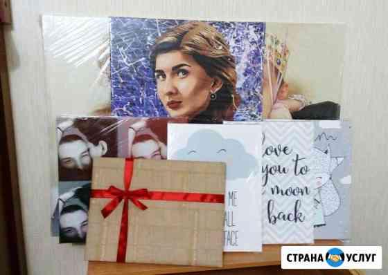 Картина на холсте по фото портрет на холсте Казань