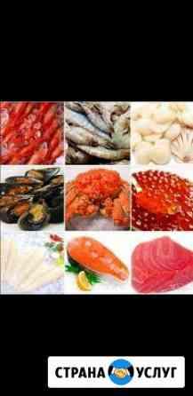 Морепродукты, краб, креветка, Икра Владивосток