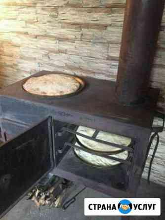 Домашние Осетинские пироги на дровах Владикавказ