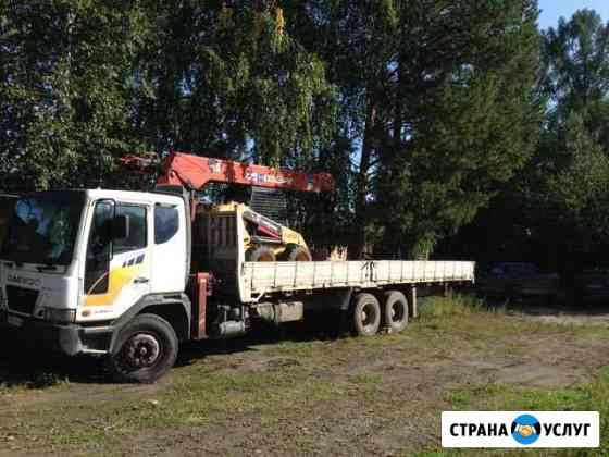 Кран Борт 18 тонн Ангарск