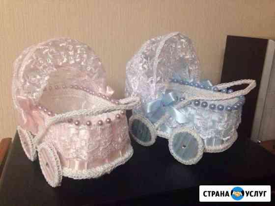 Колясочки для сбора на мальчика и девочку Владимир