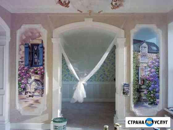 Роспись стен Брянск. Изготовление барельефов Брянск