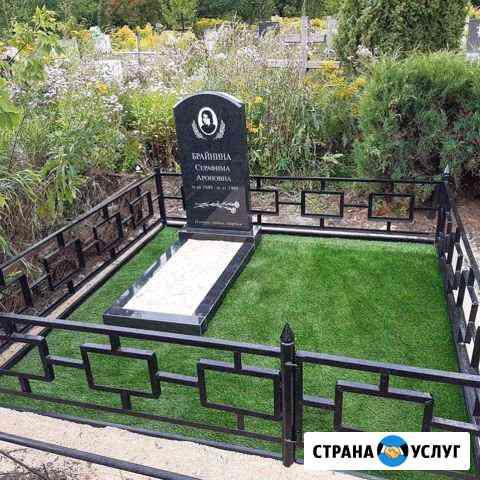 Изготовление памятников, облагораживание захоронен Рязань