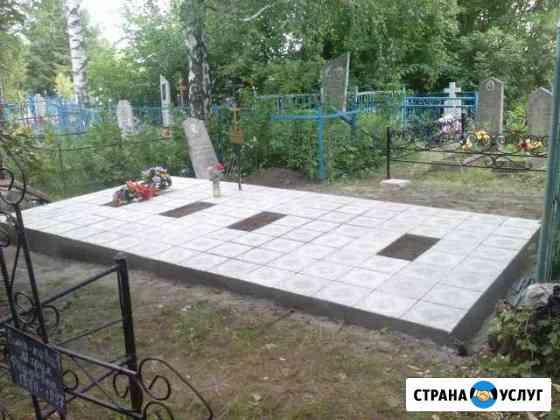 Благоустройство мест захоронений Курск