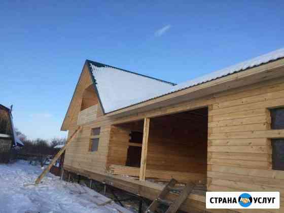 Построим баню из бруса Томск