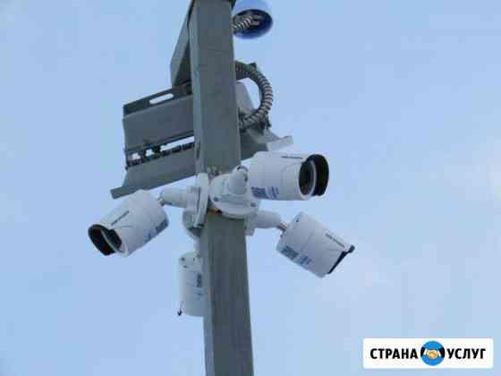 Видеонаблюдение,установка локальных сетей Иркутск