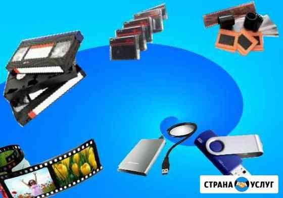 Оцифровка видеокассет, фото видео монтаж Долгопрудный