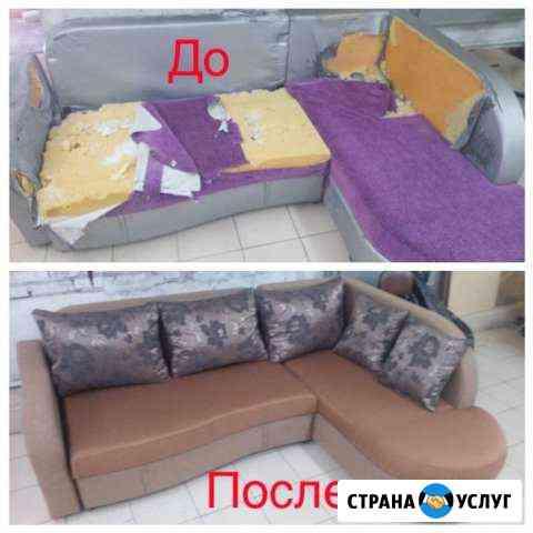 Перетяжка мебели, салонов автомобилей Томск