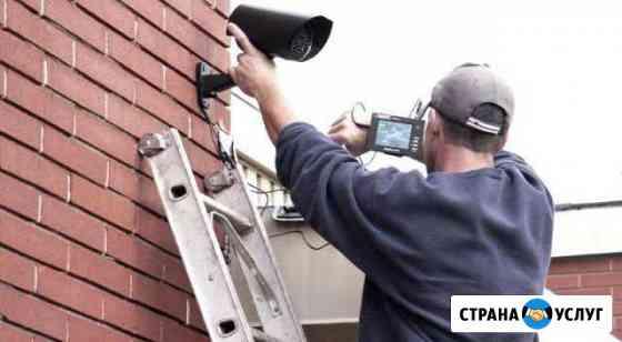 Монтаж систем видеонаблюдения (AHD, IP) Красноярск