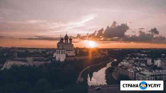 Аэросъемка фото и видео в 4К Псков