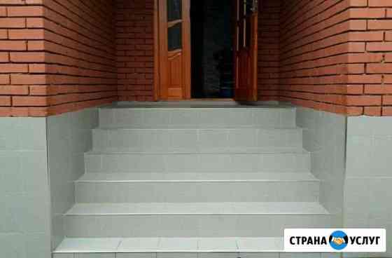 Плиточникоблицовка лестницы Грозный
