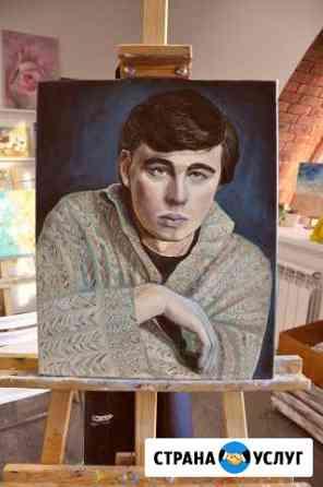 Художественный портрет по фото. Картина на заказ Мурманск