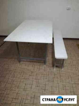 Аренда столов и скамеек Элиста