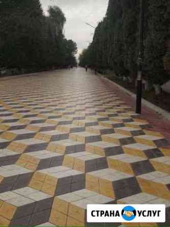 Тротуарная плитка Черкесск