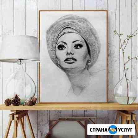 Портрет по фото Кострома