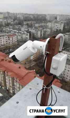 Монтаж систем видеонаблюдения Ставрополь