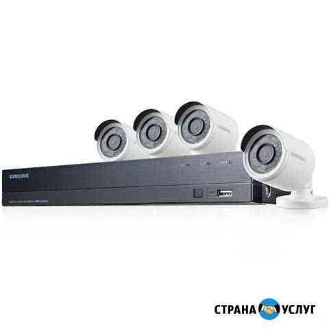 Монтаж систем видеонаблюдения, скуд Йошкар-Ола