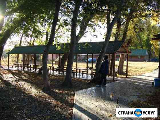 Палаточный кемпинг на берегу р. Кизань Камызяк
