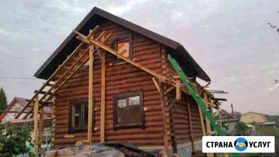 Крыши-кровля любой сложности, плотники Нижнекамск