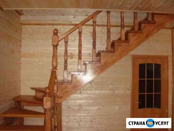 Деревянные лестницы Тула