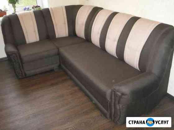 Ремонт перетяжка мягкой мебели Октябрьский
