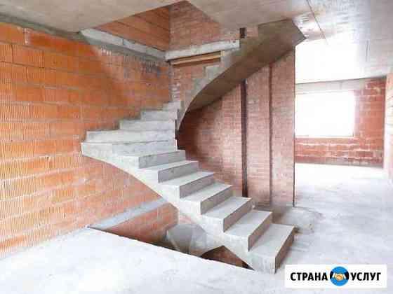 Монолитные лестницы Белгород