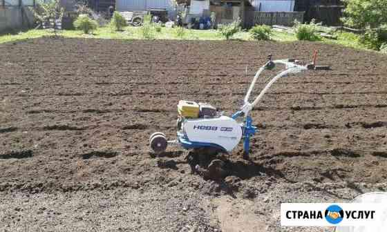 Копка, вспашка земли мотокультиватором, благоустро Иваново