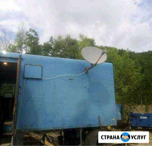 Установка спутникого интернета (выезд на участки) Зея