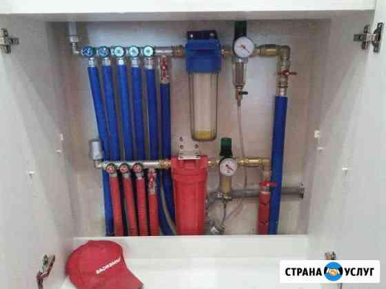Сантехник. Замена труб. Прочистка засора канализац Санкт-Петербург