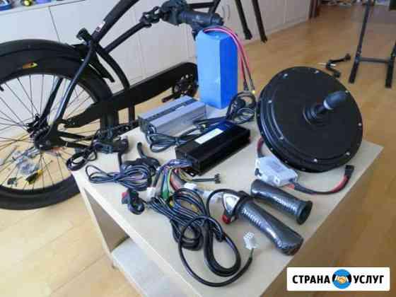 Сборка электровелосипедов Кострома