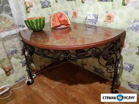 Кованые изделия (столы, обувницы и т.д. ) Псков