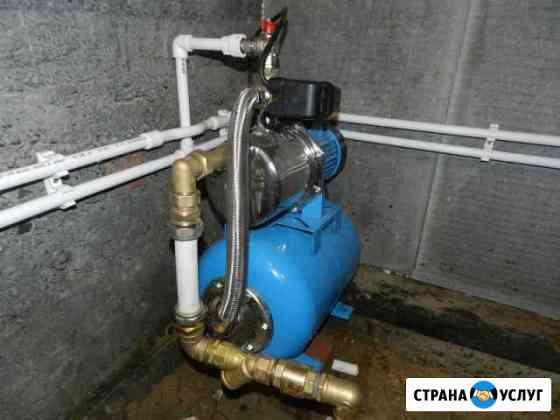 Монтаж и ремонт насосных станций. Утепление труб Михайловск