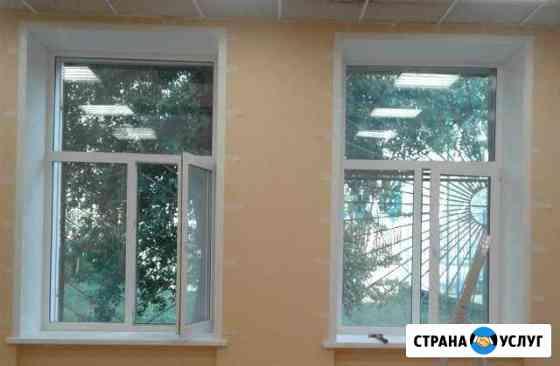 Летний ремонт пластиковых окон и дверей Самара