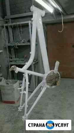 Покраска велосипедов порошковой краской Тверь