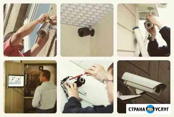 Установка видеонаблюдения Иркутск