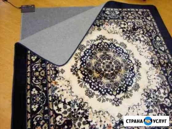 Промышленная стирка ковров Казань