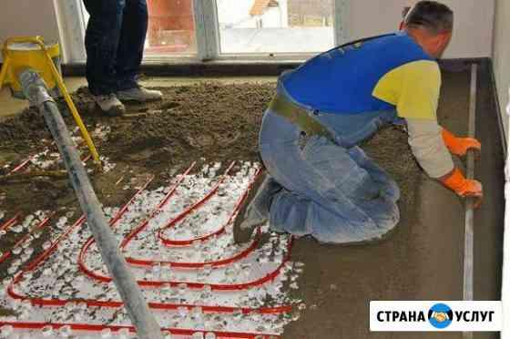 Стяжка пола Новопавловск